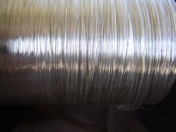 Lut srebrny pr 450 fi 0.6 mm 1mb