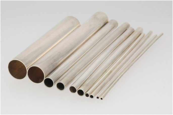 Rurka srebrna fi 6.0 mm próby 935 odlew ciągły/bez szwu