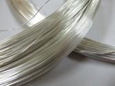 Drut ze srebra pr 930 fi 0.2 mm x 1 mb, twardy i sprężysty